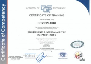 ISO 9001-2015-Auditor 19011-2018