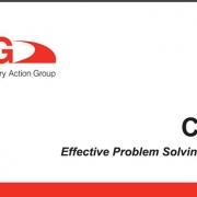 هندبوک CQI-10 راهنمای حل اثربخش مساله، منتشر شده توسط AIAG: CQI-10 Effective Problem Solving Guideline (EPS) رهنمودهایی برای فرهنگ، فرآیند، تکنیک ها و آموزش