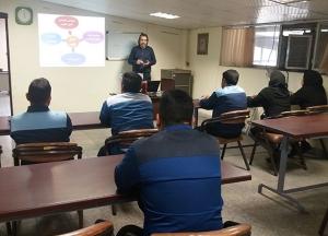تدریس دوره آموزشی کنترل کیفیت عمومی در محل شرکت صنایع لاستیک توس