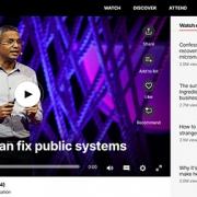 سخنرانی تد انگیزش برای بهبود سیستم های عمومی